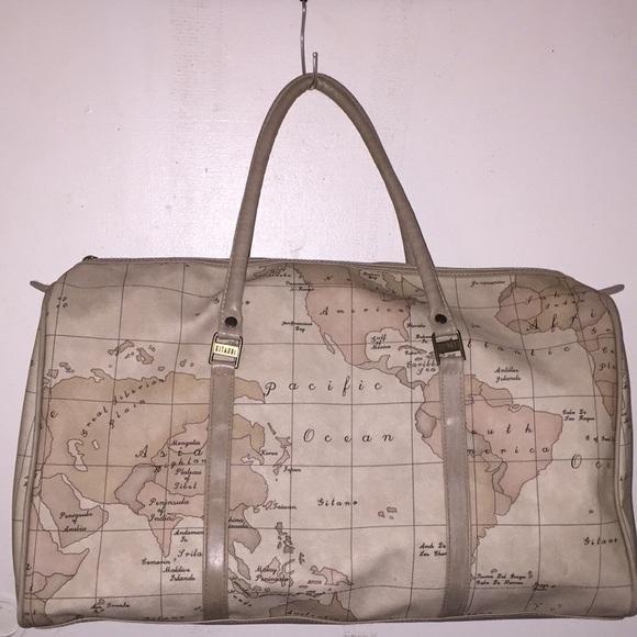 Gitano bags vintage accessories large duffle world map poshmark vintage gitano accessories large duffle world map gumiabroncs Choice Image